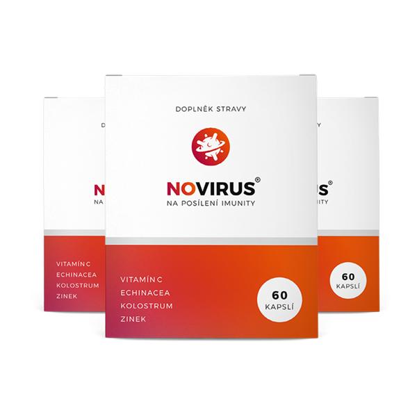 novirus na imunitu - 3 balení