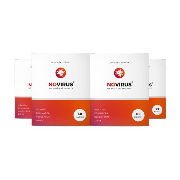novirus na imunitu - 4 balení