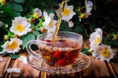 šípkový čaj imunita